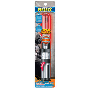 Firefly Darth Vader Lightsaber Light-Up Toothbrush