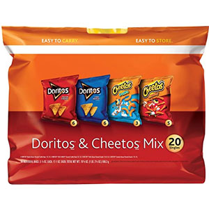 Frito-Lay Doritos and Cheetos Multipack