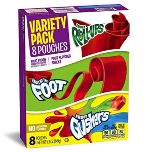 Fruit Flavored Variety Pack