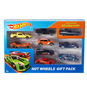 Hot Wheels Decoration 9 Car Gift Pack