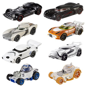 Hot Wheels Star Wars Character 8 Car Pack