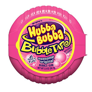 Hubba Bubba Bubble Tape Gum