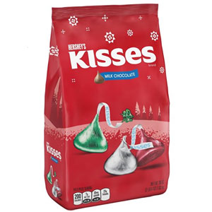KISSES Holiday Milk Chocolates