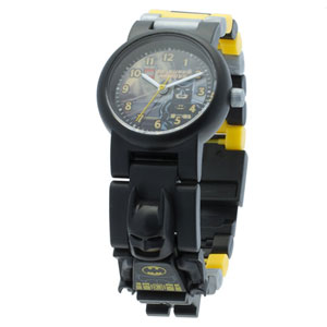 LEGO Super Heroes Batman Minifigure Watch
