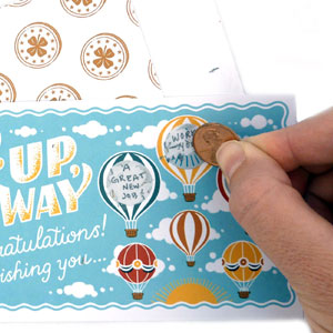 Lucky You!: Create 16 Custom Scratch Cards