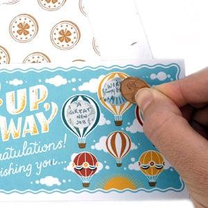 Lucky You!: Create 16 Custom Scratch Cards