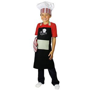 MUkitchen MiniMu Kids 3-Piece Cotton Chef Set