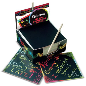 Melissa & Doug Scratch Art Mini Notes