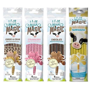 Milk Magic Flavored Straws