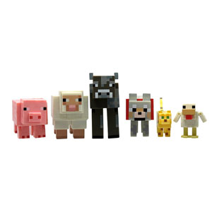 Minecraft Animal Pack (6-Pack)