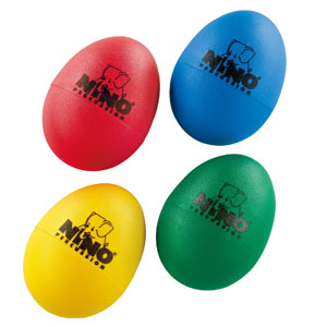 Nino Percussion Plastic Egg Shaker Set