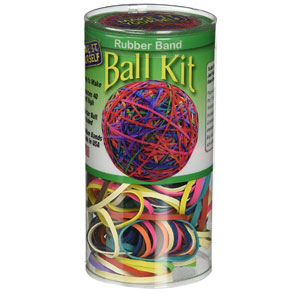Pencil Grip Rubber Band Ball Kit