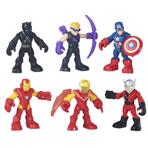 Playskool Heroes Super Hero Figures