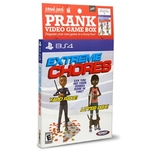 Prank Pack Extreme Chores Video Game Sleeve