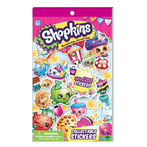 Shopkins Collectible Sticker Book