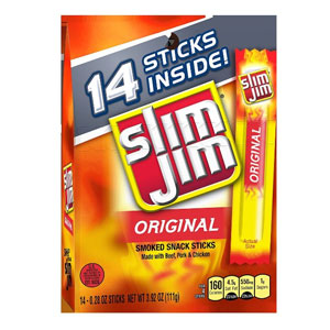 Slim Jim Original Snack Sticks