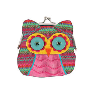 Stephen Joseph Owl Coin Purse