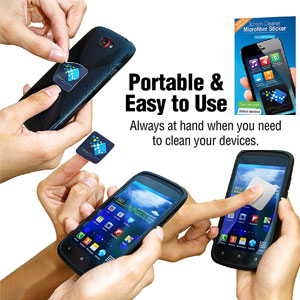 Sticky Cleaning Pad for Portable Gadgets