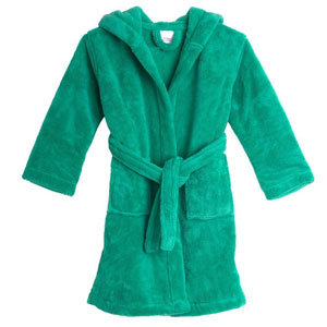 TowelSelections Boys Hooded Plush Robe