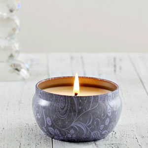 Blue Lotus Candle Scented