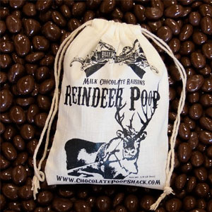 Chocolate Reindeer Poop