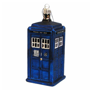 Doctor Who Tardis Figural Ornament