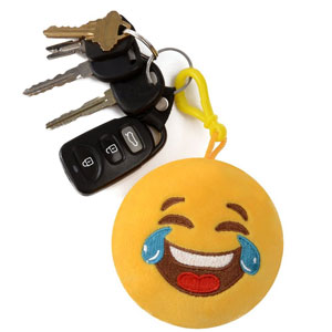 Emoji Keychain Clip