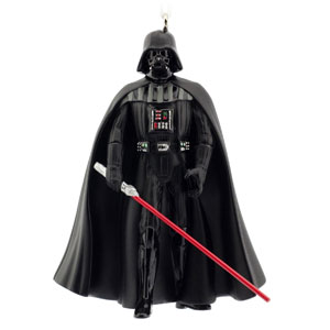 Hallmark Star Wars Darth Vader Holiday Ornament