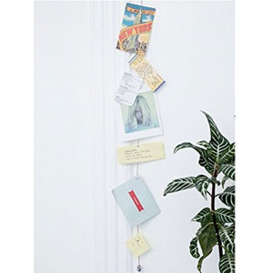 Kikkerland Photo and Card Holder Magnetic Wire