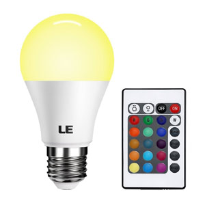 LE Dimmable A19 E26 LED Light Bulb
