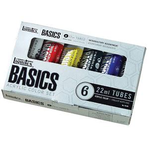 Liquitex Basics Acrylic Paint Tubes