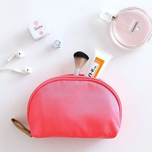 Mossio Half Moon Cosmetic Beauty Bag
