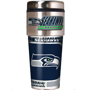 NFL Metallic Travel Tumbler