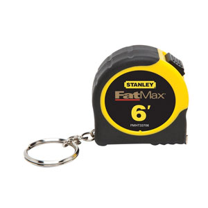 Stanley Fat Max Keychain Tape Rule