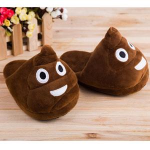 TrendyHomeGoods Emoji Slippers