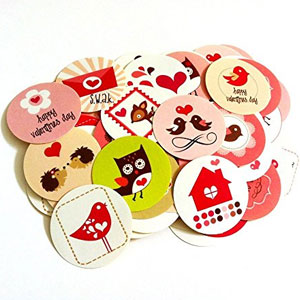 Adore By Nat Valentine Labels (50 Pack)