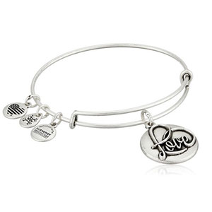 Alex and Ani Love Bangle Bracelet