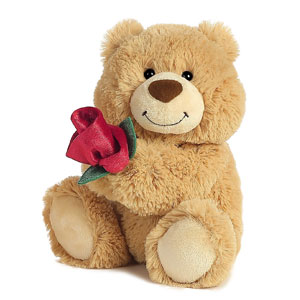 Aurora World You Make Me Happy Plush Bear