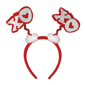 Beistle Valentine Headband Bopper