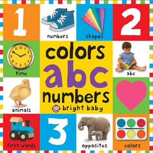 First 100 colors, abc, & numbers