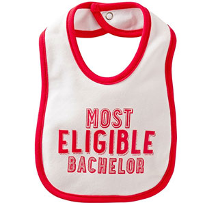 Carter's Valentine Bachelor Teething Bib