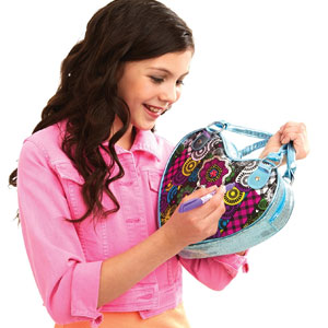 Cra Z Art Color Your Own Heart Bag Costume