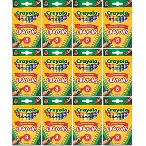 Crayola Crayons (12 Pack)
