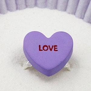 Custom Candy Heart Ring