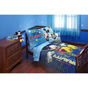 4-Piece Mickey Bedding Set
