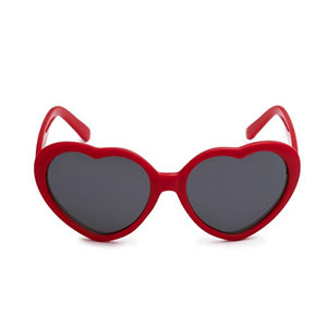 Eason Eyewear Heart Sunglasses