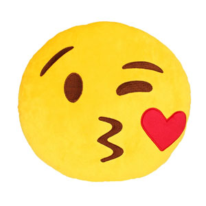 Emoji Smiley Emoticon Pillow