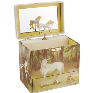 Enchantmints Unicorn Jewelry Music Box