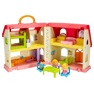 Fisher-Price Little People Surprise & Sou​nds Home