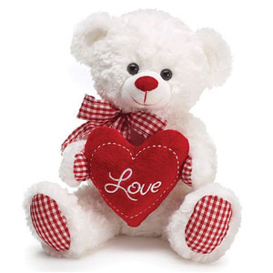 Gingham Love Bear